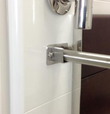 KR Specialties Caregiver Curtain bar installation